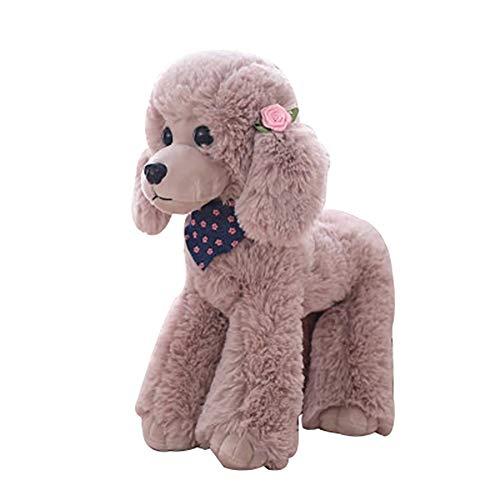TLfyajJ Plüsch realistische Teddy Hund Tier Puppe Stofftier Geschenk Stuhl Couch Sofa Dekor Kamel 40cm -