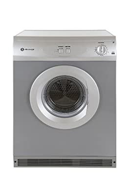 White Knight 42AS Vented Tumble Dryer, 6 Kg, Silver from Crosslee