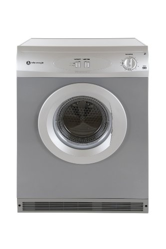 White Knight 42AS Vented Tumble Dryer, 6 Kg, Silver