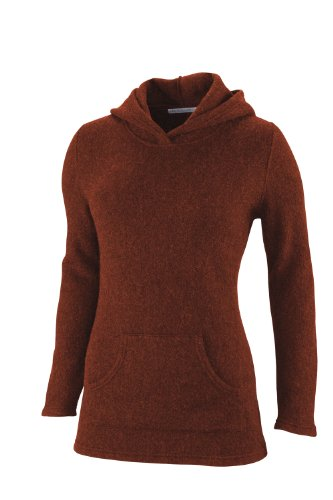 Pacadudz Damen Kapuzenpullover, damen, burnt orange