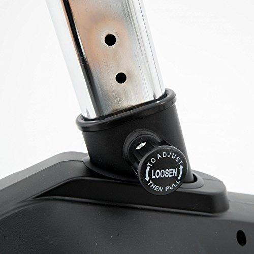 Spirit Upright Bike DBU 20 – Heimtrainer, Fitness Indoor Bike, Ergometer mit Hand-Puls-Sensoren - 7