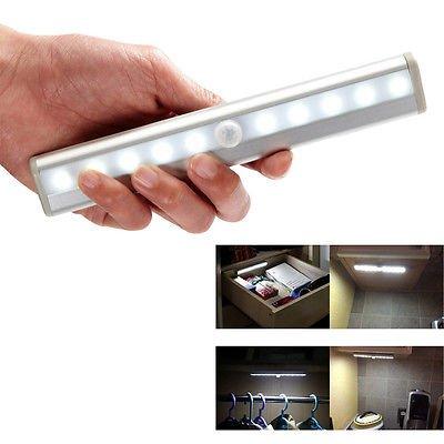 LED-Sensor-Lichter unter Kabinett-Regal-Schrank-Nachtlicht-Stick-auf überall Küche RV-Boot (Lange LED-Licht) Rv-batterie-kabel