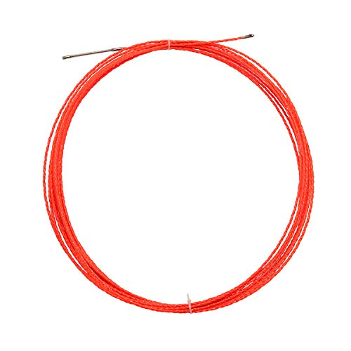 ExcLent 15M 5Mm Cable Push Puller Rodder Reel Conduit Snake Fish Tape Wire -