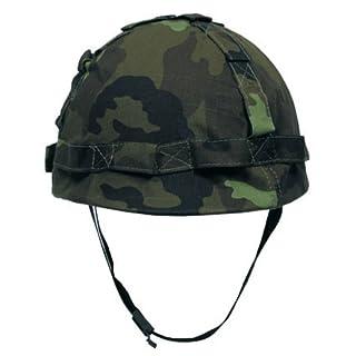 Max Fuchs US Helm Kunststoff, mit Stoffbezug, CZ-tarn CZ tarn/camo