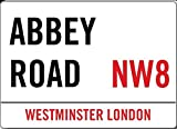 Abbey Road NW8Londres Imán para Frigorífico 88mm x 65mm (2F)