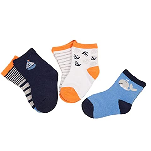 zando Niños y Niñas de bebé de algodón surtidos de bebé calcetines