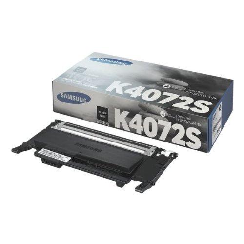 Samsung CLT-K4072S/ELS Original Toner (Kompatibel mit: CLP-320/CLP-325/CLX-3185 Series) schwarz