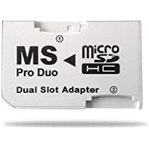 Demarkt ADAPTADOR SDHC A MS PRO DUO DUAL SLOT (PSP)