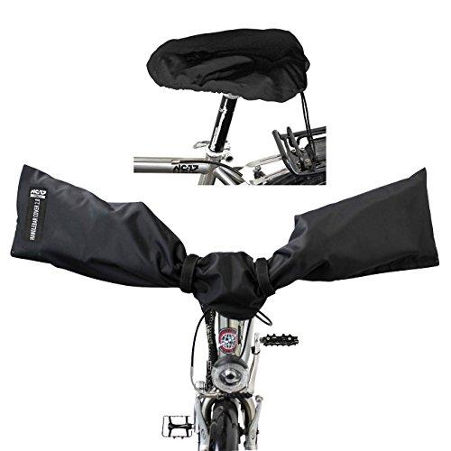 NC-17 Connect Schutzhüllen für E-Bike Lenker und Fahrrad Sattel / Handlebar und Seat Cover 2.0 / Lenkerschutz, Sattelschutz, Schutzhaube für Fahrrad Lenker und Sattel / wasserdicht / One Size / Nylon -