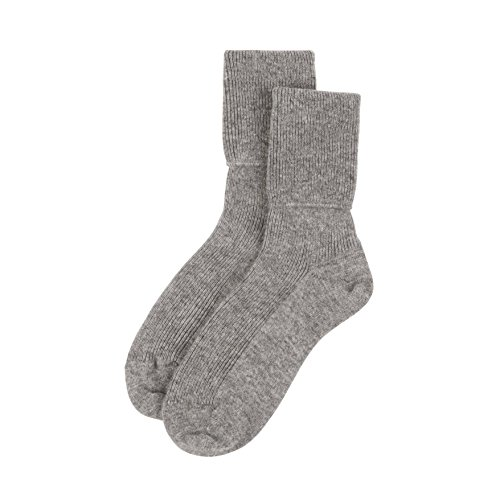 Jasmine Silk Damen 100% Kaschmir Cashmere Bettsocken Socken ashmere Bettsocken Socken 5060290085946 (Damen-kaschmir-socken)
