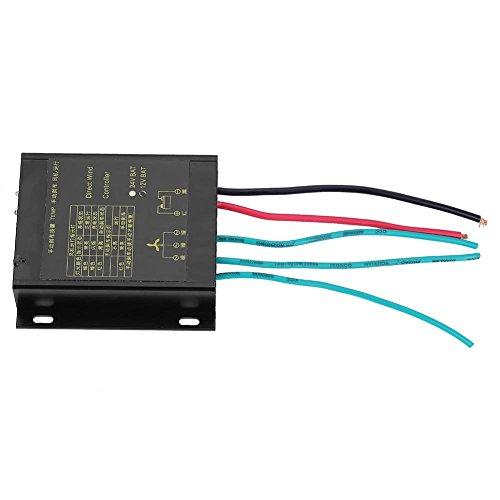 Regulador de la Carga del Viento de la Prenda Impermeable 400W con la Función Auto y Manual del...