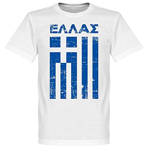 Griechenland Vintage T-shirt - weiss-XL