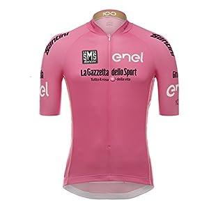 Santini - Giro d'Italia, camiseta de manga corta para hombre, Hombre, Giro d'Italia, Rosa, M