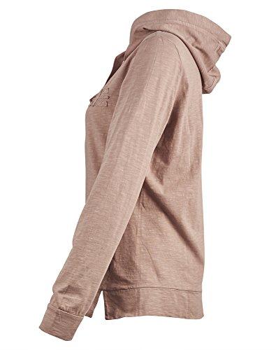NAPAPIJRI sweat-shirt de la femme avec capuche N0YGDGP70 Boxley OUVERT Rose