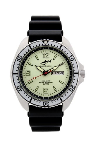 Chris Benz One Man CBO-N-SI-KB Elegante orologio da uomo Orologio da...