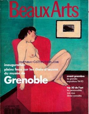 BEAUX ARTS MAGAZINE [No 120] du 01/02/19...