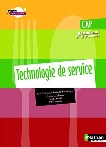 Technologie de service - CAP Restaurant par Frédéric Leichtnam