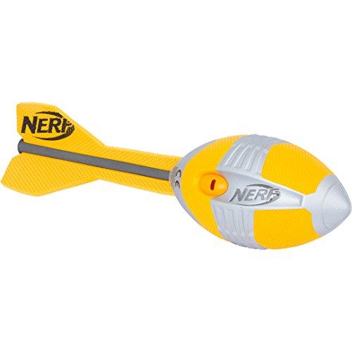 Hasbro Nerf n-Sports Vortex Aero Howler Football-Waffen Spielzeug (6Jahr (E), Kinder/Mädchen, grün, Silber, Nerf Sports, 1Stück (S))