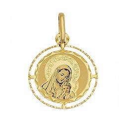 Colgante Virgen Mar a con...
