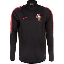 Nike FPF Drill Top - Camiseta de fútbol para hombre, color negro / rojo, talla M