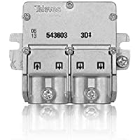 Televes 543603 - Mini repartidor 5 2400mhz easyf 3d 8,5/7,5db