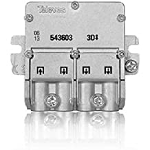 Televes 543603 - Mini repartidor 5 2400mhz easyf 3d 8,5/7,5db