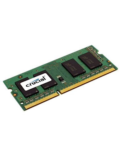 Crucial 8GB DDR3L 1600 MT/s Arbeitsspeicher ((PC3L12800) SODIMM 204Pin  CT102464BF160B) Picture