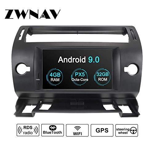 ZWNAV Andriod 9.0 Estéreo automóvil Navegación