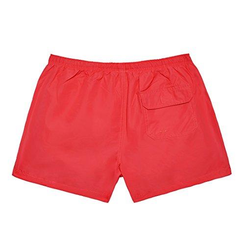 D. Franklin, Pantaloncini Uomo Rosso