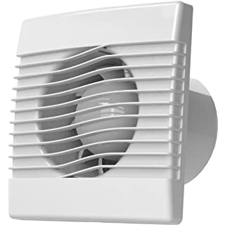 AirRoxy Premium Indoor Fan for Small Room (WC, Bathroom, Kitchen) 100 mm / 10 cm