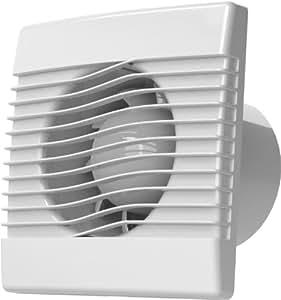 l fter raum innen ventilator kleinraum wc bad k che 100mm 10 cm mit timer zeitschalter und. Black Bedroom Furniture Sets. Home Design Ideas