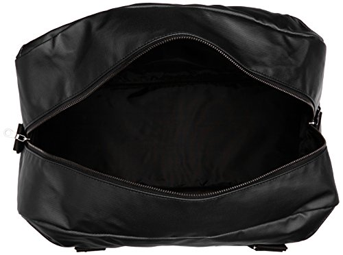 Lyle & Scott - Coated Canvas Holdall, Borsa con Maniglia Unisex - Adulto Black (True Black)