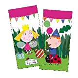 Ben and Holly's Little Kingdom Loot Bags Packet of 10 by Verbetena