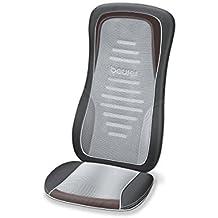 Beurer MG 300 Massagesitzauflage, Nacken-/ und Rückenmassage, zuschaltbare Wärme, automatische Körperscan-Funktion
