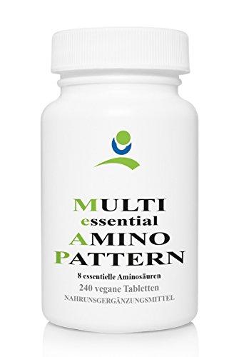 APOrtha Multi essential Amino Pattern - 8 essentielle Aminosäuren - 240 vegane Tabletten