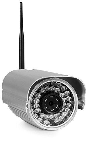 Foscam fi9805w telecamera ip impremeabile ip66 megapixel hd 720p h.264 wireless/cavo con filtro ir-cut - 40 metri visione notturna e lente da 4mm (70° gradi)