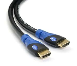 Multi Cable - Cavo HDMI 2.0 ad alta velocità con Ethernet (5M) – Supporto 3D e Canale di Ritorno Audio (ARC) – Full HD [Disponibile ultima versione HDMI] – 5 metri