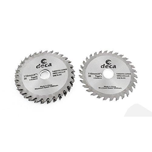DealMux 105 milímetros de diâmetro 30 dente de corte serra circular 5pcs cortador Carpintaria Ferramenta