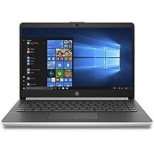 "HP 4XN65UA#ABA 14"" Laptop, Intel Pentium N5000, 4GB RAM, 128 SSD, Windows 10, Silver"