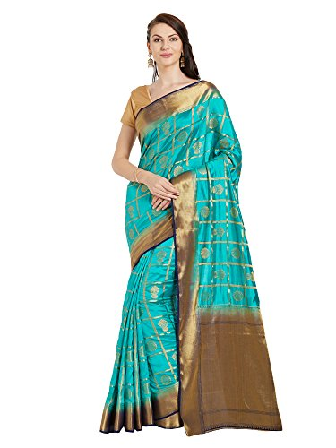 Viva N Diva Saree For Women's Sarees New Collection Party wear Turquoise...
