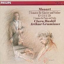 Mozart: 2 Sonates pour Piano & Violon KV 454 & 526