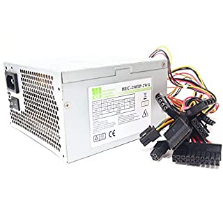HEC-250AR-PTF 250W ATX Computer Power Supply Unit PC Netzteil Silent 120mm Fan
