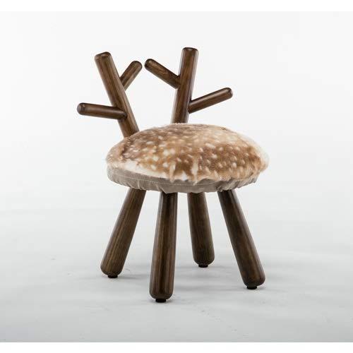 Paddia Tabouret pour enfants en bois massif avec bande dessinée Home Tabouret Tabouret pour enfants en bois massif avec bande dessinée Chaise d'apprentissage Tabouret Chaise de bébé Tabouret Moutons F