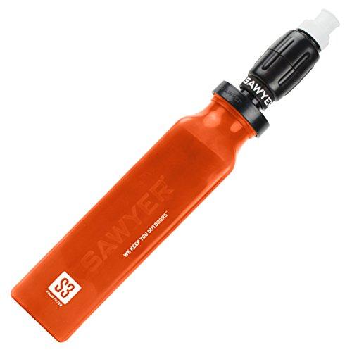 Sawyer Select S3 Wasserfilter Wasserreiniger Schwermetalle Viren Bakterien Protozen Chemikalien (verbessert: Geschmack und Geruch) mit PointONE Mini Filter und Aktivkohlefilter -