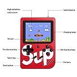 Sup Game Box Console Portatile Videogioco 8 Bit 400 Giochi Schermo Colori Retro' Nostalgic (Rosso)