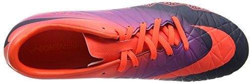 Nike  Hypervenom Phelon Ii Ag-pro, Chaussures de foot pour homme Multicolore (Total Crimson/obsidian-vivid Purple)