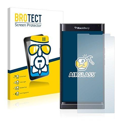 BROTECT AirGlass pellicola vetro flessibile per BlackBerry Priv (estremamente robusta, ridotto spessore, elevata trasparenza, anti-impronte e antimacchia, installazione senza bolle)