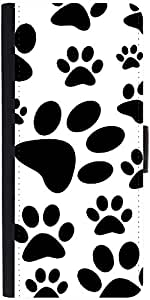 Snoogg Dog Stamps Designer Protective Flip Case Cover For Samsung Galaxy Note...