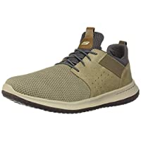 Skechers Men's Classic Fit-Delson-Camden Sneaker,Taupe,9.5 M US