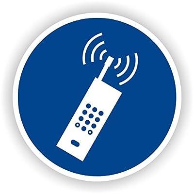 Handy benutzen erlaubt / Gebotszeichen / GE-56 / Sicherheitszeichen / Piktogramme / DIN EN ISO 7010